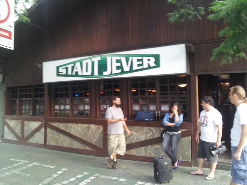 Chegando pro lançamento no Stadt Jever