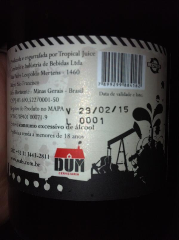 Lote 0001 de Wäls Petroleum e a data que não existe