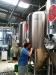 Luizinho dando atenção especial ao fermentador
