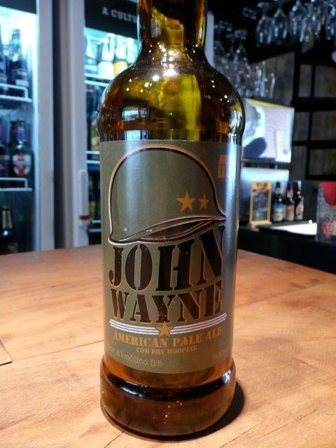 John Wayne no Mestre Cervejeiro