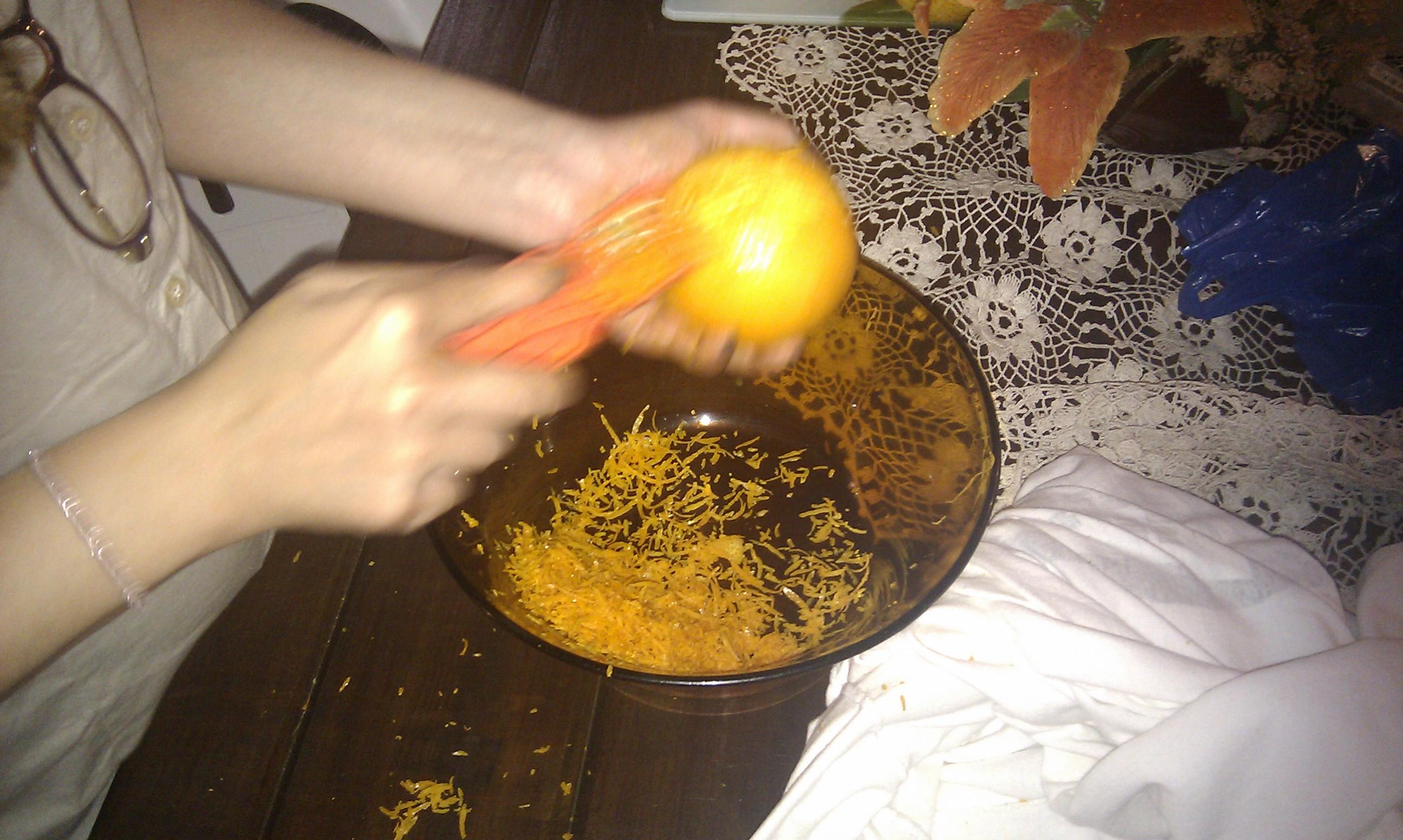 Raspas de laranja