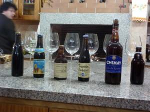 Cervejas degustadas para comemorar a união de esforços