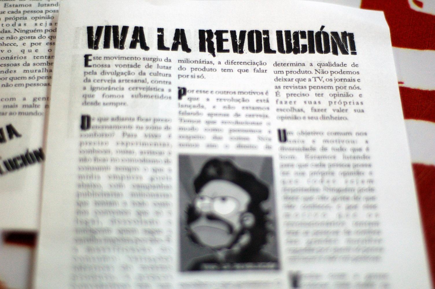 Zine Viva La Revolucion