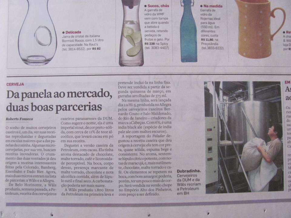 Máteria do Estado de São Paulo
