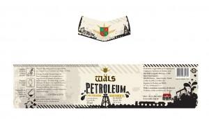 Rótulo da Wäls Petroleum