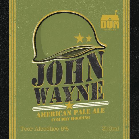 Rótulo John Wayne 310ml