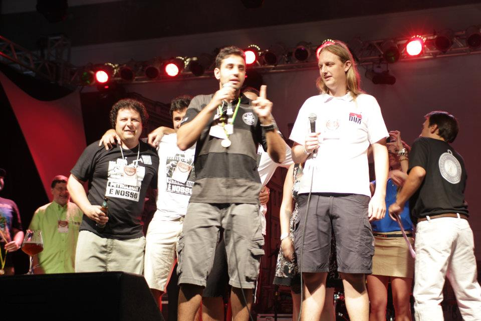 Momento da Premiação - crédito: Cerveja Brasilis