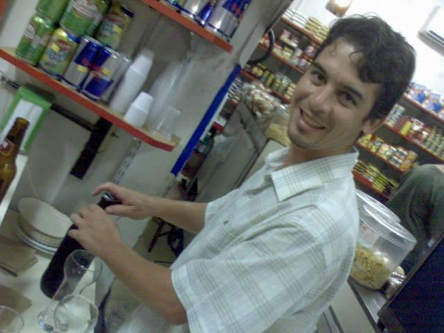 Filipe Costa e sua primeira Sambaqui Ale na Padoca