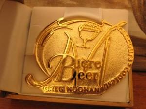 Bodebrown medalha de ouro com a Wee Heavy no Mondial de la Bière