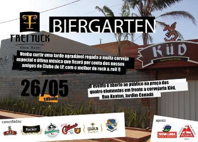 Flyer da Festa de 3 anos do Pão e Cerveja