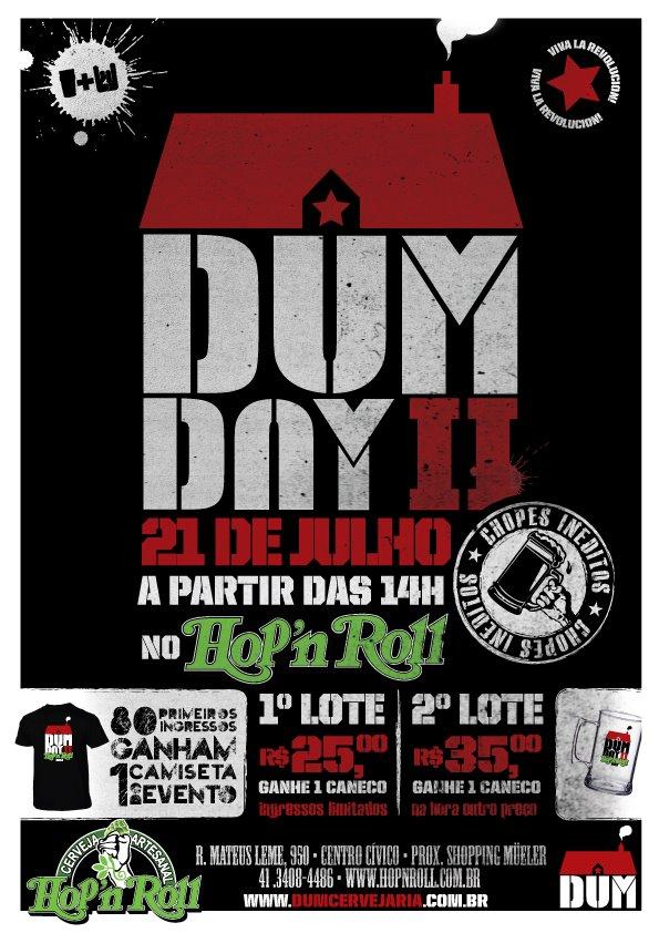 DUM DAY II no Hop'n Roll