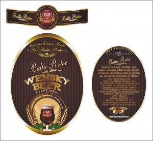 Wensky Beer -Rótulo Baltic Porter