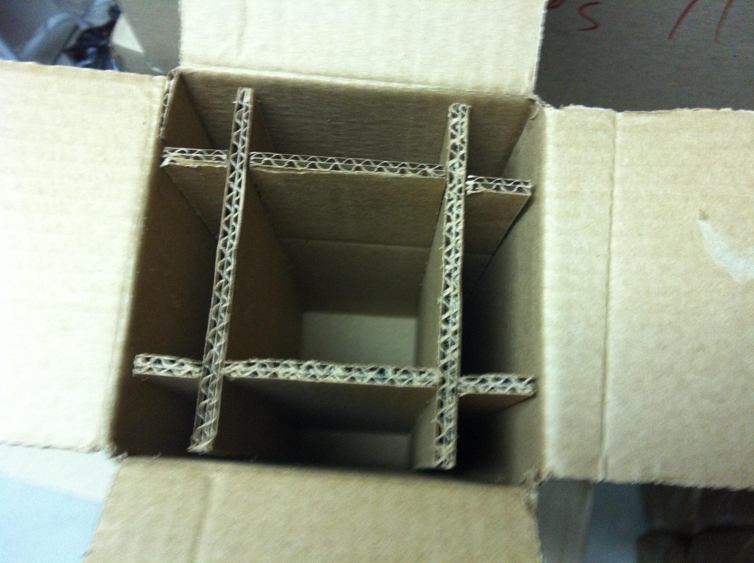 caixa reforçada