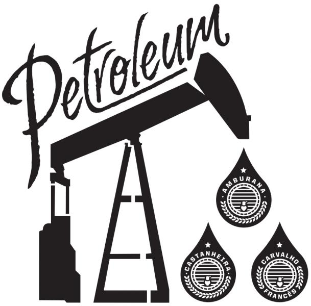 Arte da sacola dos kits da Petroleum com madeira