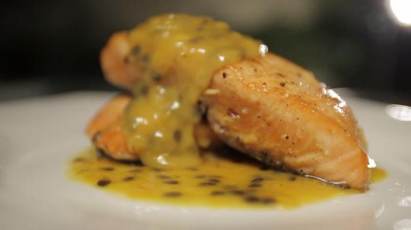 jess grand cru e salmão ao molho de maracujá 2
